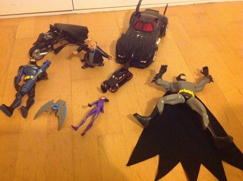 Batman toys includes