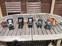 Five Vintage Cameras