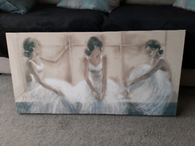 Printed Canvas - Ballerina