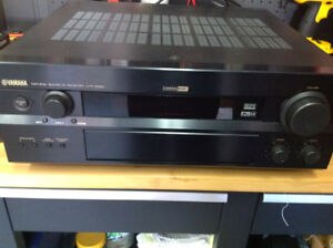 Bose acoustimass surround speakers (5) and Yamaha receiver