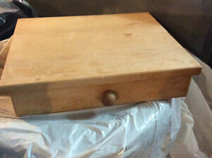 REDUCED-----SOLID WOOD SILVERWARE CHEST