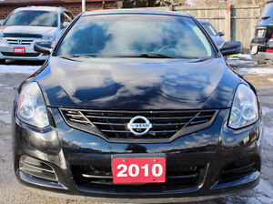 2010 NISSAN ALTIMA COUPE - ACCIDENT FREE - LOW KM - CERTIFIED