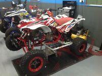 Honda crf 450 hybrid race quad