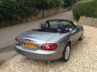 Mazda MX-5 1.8 Arctic Limited Edition, convertible two seater, 54 plate, in great condition