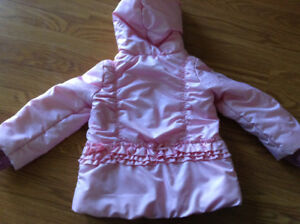 Size 4t girl winter jack and pant