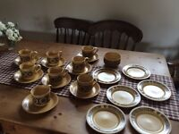 Kiln Craft ironstone tea set 1970's