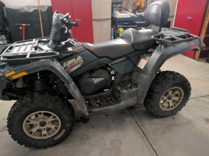Can am Outlander max XT