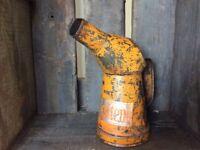 Vintage 1933 'Silentene Oil' Oil Can