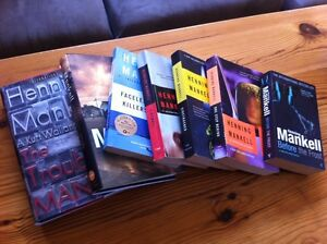 Henning Mankell collection -- inc. 2 first edition hardcovers!