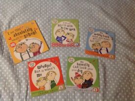 Bundle of Charlie and Lola Story Books for Kids by Lauren Child