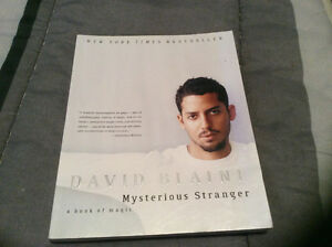 David Blaine video Fearless and magic book