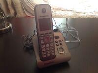 Panasonic cordless phone and voice mail