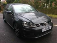 Volkswagen Golf 2.0TDI 184ps DSG GTD NAV 2016 65 BUY FOR £75 PER WEEK