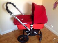 Bugaboo frog Pram and push chair