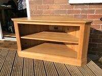Pine wood TV and DVD Stand