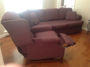 Vogel couch and chair for sale