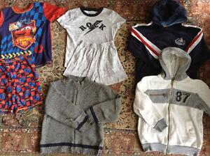 Boys Fall/Winter Clothes - size 6X
