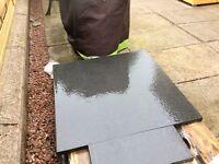Black Stone slab