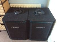 Pair of Peavey 118XT speakers in excellent condition