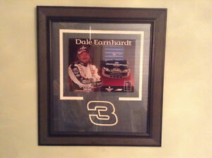 """FOR SALE:  DALE EARNHARDT #3 - 19""""x24"""" - WALL HANGING"""