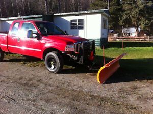 truck and snow plow Prince George British Columbia image 6