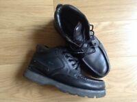 LACOSTE Men's black soft leather shoes Size 10 (44)