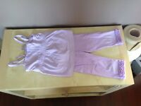 Girls size 4T Gymboree tights and tank top