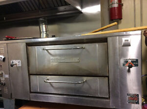 Freezers Pizza Display Warmer Pizza Oven & Prep Table