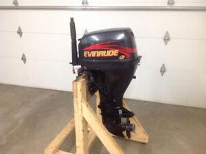 9.9 hp 4 stroke Evinrude outboard (2000)