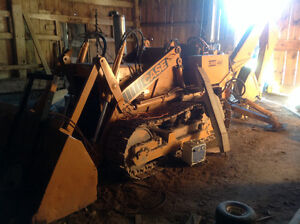 Case 450 Crawler Loader w/Backhoe attachment
