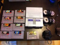 Super Nintendo and Games For Sale!
