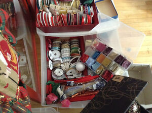 """Quilited"" Christmas Ornament Supplies"
