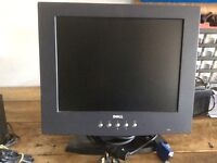 Computer monitor screen & speaker sound system house clearance