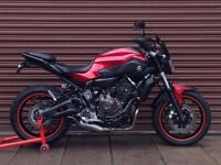 Yamaha MT MT-07 ABS 2016. Only 4628miles. Nationwide Delivery Available.