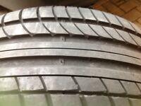 Nearly new tyre Avon ZZ5 245/40/R19 Y98