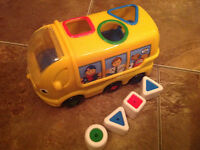 Small toy bus