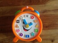 Fisher price laugh and learn smart stages clock