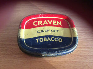 Craven tobacco tin