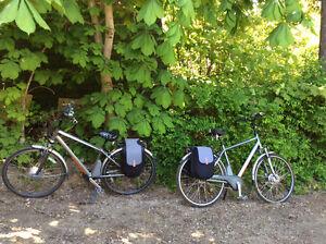 Electronic bicycle hundred kilometre range