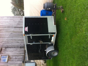2014 6x8 Enclosed Trailer