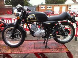 AJS Cadwell 125cc Cafe Racer