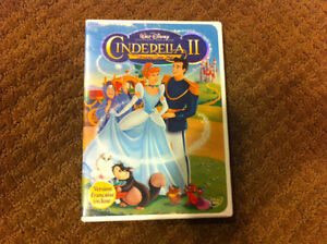 Cinderella II, Barbie Swan Lake, Charlotte's Web 2,Etc DVDs