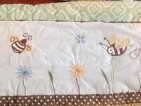 Selling nursery bedding and decor (bumblebee)