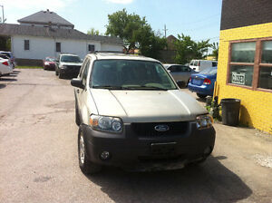 2005 FORD ESCAPE SAFETY +E TEST $ 3900 +HST