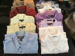 MEN'S ASSORTED DRESS/CASUAL/ POLOS SHIRTS 5.00 EACH