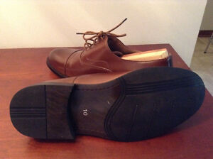 Brown fashionable dress shoes West Island Greater Montréal image 4