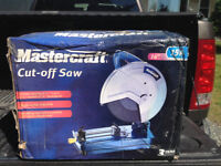 "Mastercraft 14"" Cutoff Saw"
