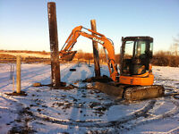 Mini Excavator and Skidsteer (Bobcat)