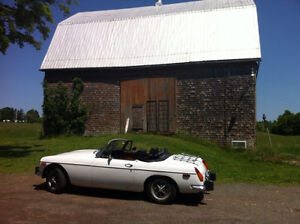 Better weather is coming ... 1974 MG