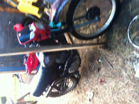 2 dirtbikes